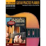 Guitar Practice Planner + the Guitarist's Personal Practice Trainer & Warm-up Plan by Dubrock, Andrew, 9781495007156