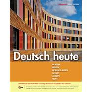 Deutsch heute, Enhanced by Moeller, Jack; Berger, Simone; Hoecherl-Alden, Gisela; Howes, Seth; Adolph, Winnie, 9781305077157