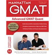 Advanced GMAT Quant by Manhattan GMAT, -, 9781935707158