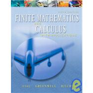 Finite Mathematics and Calculus With Applications by Lial, Margaret L.; Greenwell, Raymond N.; Ritchey, Nathan P., 9780321067159
