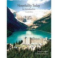 Hospitality Today with Answer Sheet (AHLEI) by Angelo, Rocco M; American Hotel & Lodging Association, 9780133097160