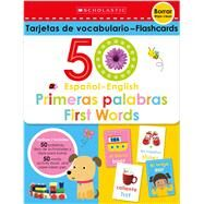 Flash Cards Set - 50 Spanish-English First Words (Scholastic Early Learners) by Scholastic Early Learners, 9781338337167