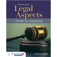 Legal Aspects of Health Care Administration by Pozgar, George D., 9781284127171