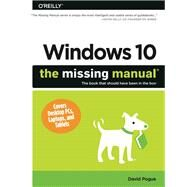 Windows 10 by Pogue, David, 9781491947173