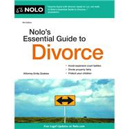 Nolo's Essential Guide to Divorce by Doskow, Emily, 9781413317176