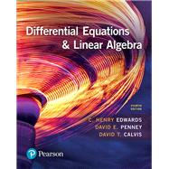 Differential Equations and Linear Algebra by Edwards, C. Henry; Penney, David E.; Calvis, David, 9780134497181