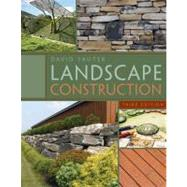 Landscape Construction by Sauter, David, 9781435497184