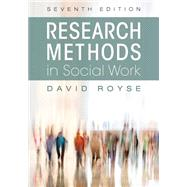 RESEARCH METHODS IN SOCIAL WORK        sku # 81771-1A by Unknown, 9781516507184