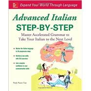Advanced Italian Step-by-Step by Nanni-Tate, Paola, 9780071837187