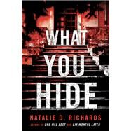 What You Hide by Richards, Natalie D., 9781492657187