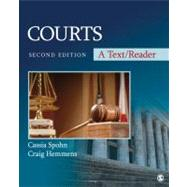 Courts : A Text/Reader by Cassia Spohn, 9781412997188