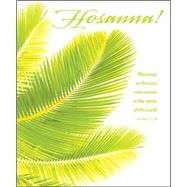 Hosanna / Palm Sunday Bulletin-Large 2015 by Abingdon Press, 9781426777189