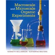 Macroscale and Microscale Organic Experiments by Williamson/Masters, 9781305577190