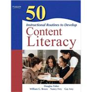 50 Instructional Routines to Develop Content Literacy 9780137057191U