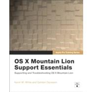 Apple Pro Training Series OS X Support Essentials by White, Kevin M.; Davisson, Gordon, 9780321887191