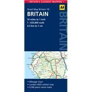 AA Road Map Britain by Automobile Association (Great Britain), 9780749577193