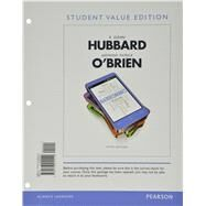 Macroeconomics, Student Value Edition Plus NEW MyEconLab with Pearson eText (1-semester access) -- Access Card Package, 5/e by HUBBARD & OBRIEN, 9780133827194