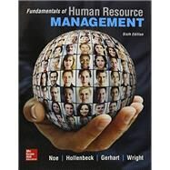 Fundamentals of Human Resource Management with Connect Access Card by Raymond Noe, 9781259677199