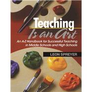 Teaching Is an Art by Spreyer, Leon, 9781634507202