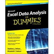 Excel Data Analysis for Dummies by Nelson, Stephen L.; Nelson, E. C., 9781119077206