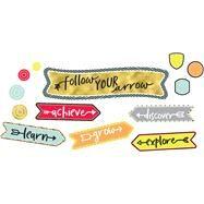 Aim High Follow Your Arrow Mini Bulletin Board Set by Carson-Dellosa Publishing Company, Inc., 9781483837208