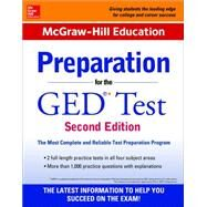 McGraw-Hill Education Preparation for the GED Test 2nd Edition by McGraw-Hill Education Editors, 9780071847209