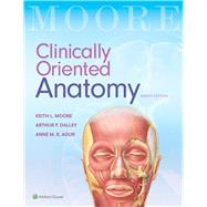 Clinically Oriented Anatomy by Moore, Keith L.; Dalley II, Arthur F.; Agur, Anne M. R., 9781496347213