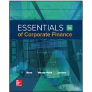 Essentials of Corporate Finance by Ross, Stephen;Westerfield , Randolph;Jordan , Bradford, 9781259277214