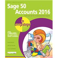 Sage 50 Accounts 2016 in Easy Steps by Mantovani, Bill, 9781840787214