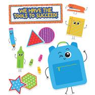 School Tools We Have the Tools to Succeed! Bulletin Board Set by Carson-Dellosa Publishing Company, Inc., 9781483837215