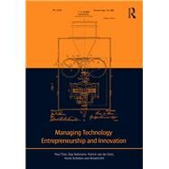 Managing Technology Entrepreneurship and Innovation by Trott; Paul, 9780415677219