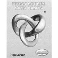 Student Study and Solutions Manual for Larson's Precalculus with Limits, 3rd by Larson, Ron, 9781133947219