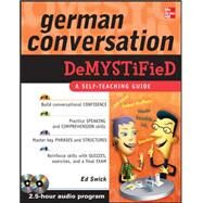 German Conversation Demystified with Two Audio CDs by Swick, Ed, 9780071627221