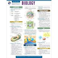 Biology: Rea's Quick Access Reference Chart by Research & Education Association, 9780738607221