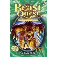 Beast Quest: 31: Komodo the Lizard King by Blade, Adam, 9781408307236