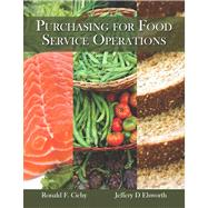 Purchasing for Food Service Operations with Answer Sheet (EI)