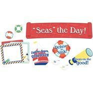 S.s. Discover Seas the Day! Mini Bulletin Board Set by Carson-Dellosa Publishing Company, Inc., 9781483837246