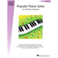 Popular Piano Solos: Level 2 by , 9780793577248