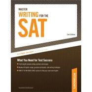 Master Writing for the Sat : What You Need for Test Success by Peterson's, 9780768927252