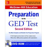 McGraw-Hill Education Preparation for the GED Test with DVD-ROM by McGraw-Hill Education Editors, 9780071847254