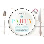 Life of the Party Placemats by Cider Mill Press, 9781604337259