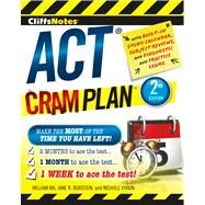 Cliffsnotes Act Cram Plan by Ma, William; Burstein, Jane R.; Vivion, Nichole, 9780544227262