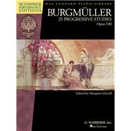 25 Progressive Studies, Op. 100: Piano by Burgmuller, J. Friedrich (COP), 9781495007262