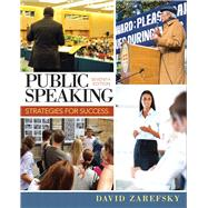 Public Speaking Strategies for Success by Zarefsky, David, 9780205857265