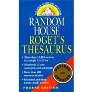 Random House Roget's Thesaurus by RANDOM HOUSE, 9780345447265