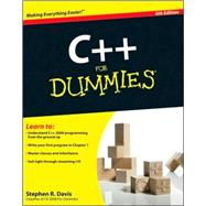 C++ For Dummies by Davis, Stephen R., 9780470317266