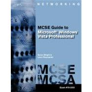 70-620 MCTS Guide to Microsoft Windows Vista by Wright,Byron, 9781418837266