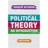 Political Theory An Introduction by Heywood, Andrew, 9781137437273