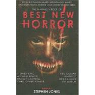 The Mammoth Book of Best New Horror by Jones, Stephen, 9780762437276