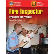 Fire Inspector: Principles and Practice Revised First Edition by , 9781284087277